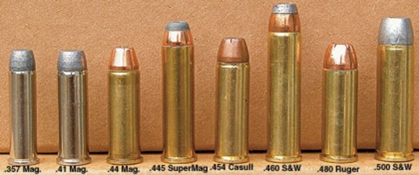 What rifle (or pistol) caliber/cartridge would be considered