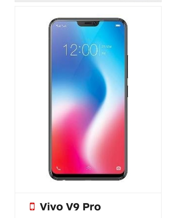 How much does Vivo V9 pro cost? - Quora