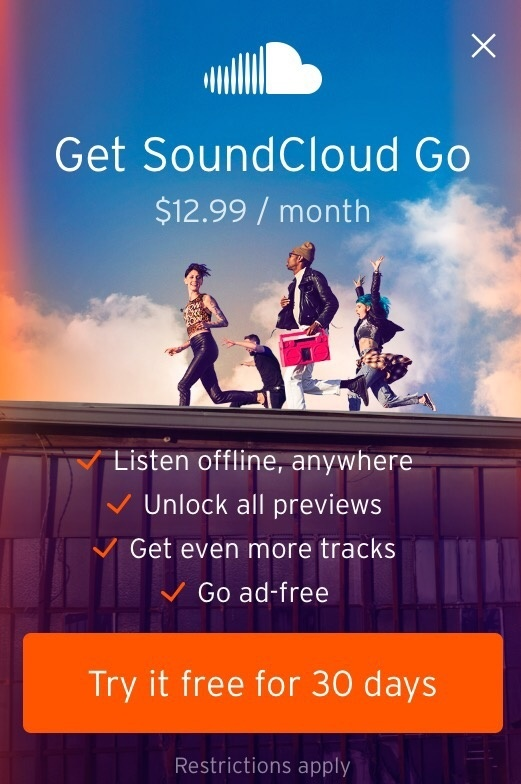 soundcloud why it does not offer offline playback like spotify