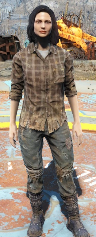Where Can I Find A Head To Toe Picture Of Character Marcie Long From Fallout 4 My Daughter Needs A Clearer Picture Of Her Boots For Cosplay Quora