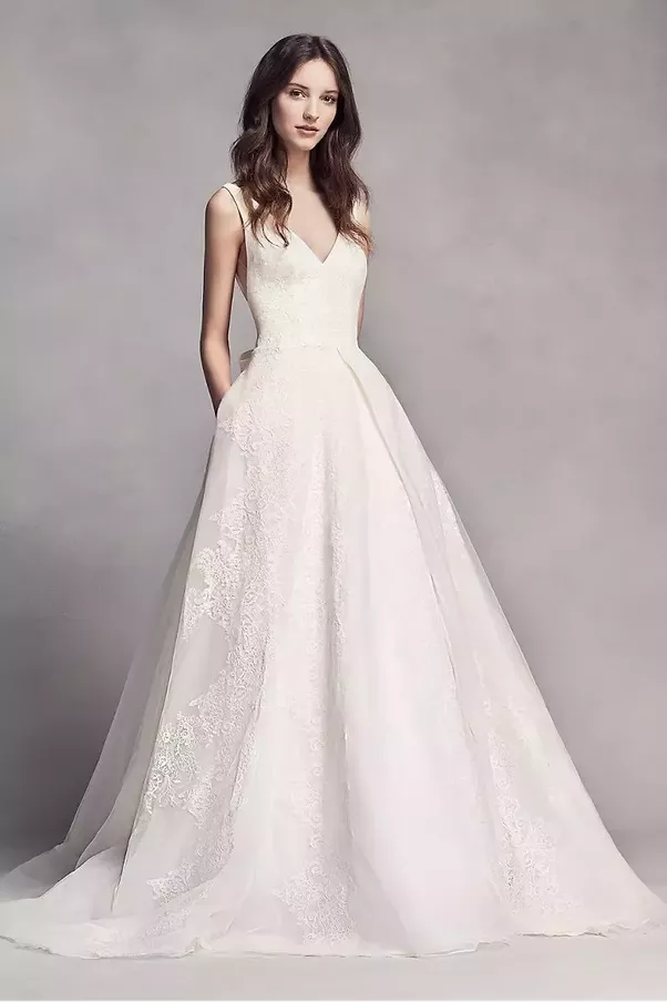 What style of wedding dress would be best for a short bride quora a line wedding dress junglespirit
