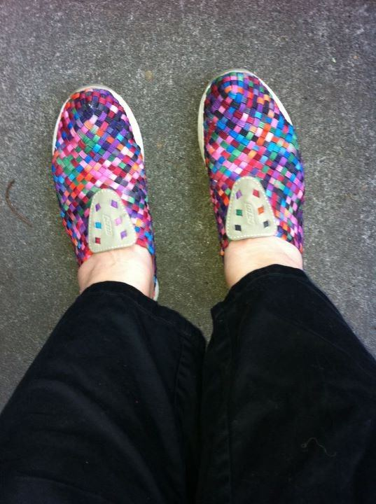 426d17e6ccdf Most days I take a photo of the shoes I am wearing and post it to Facebook  with the caption