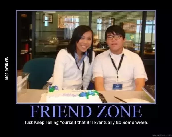What does it mean to be friend zoned