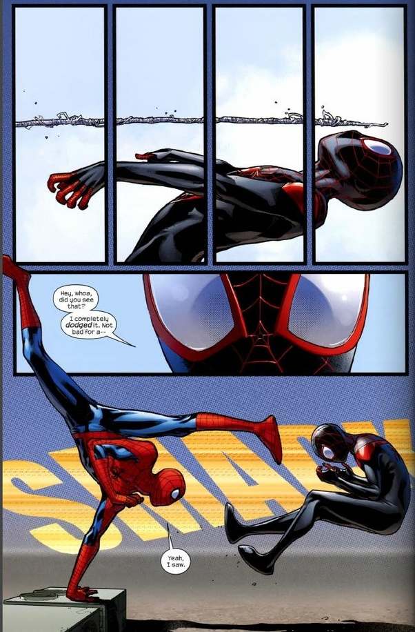 Who is the best Spider-Man, Miles Morales or Peter Parker? - Quora