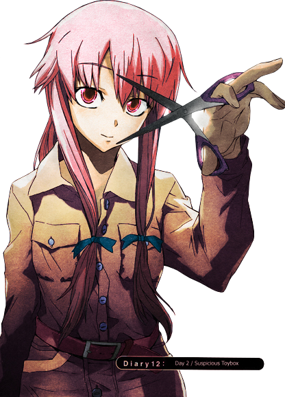 Another Yandere That I Know Is Shion Sonozaki From Higurashi No Naku Koro Ni She Loved A Boy Saved Her Named Satoshi And His Sister Satoko