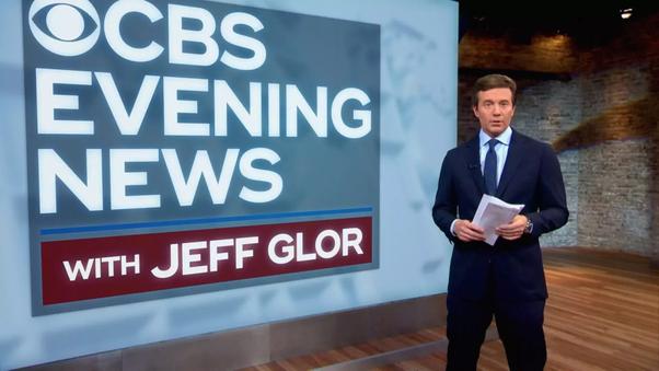 Cbs evening news with jeff glor' begins december 4.