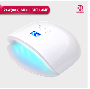 The High End LED Chip Can Radiate Both 365nm And 405nm Light At The Same  Time. With The Advanced Nail Lamp, It Can Cure All UV And LED Gel Polish At  15u201330 ...