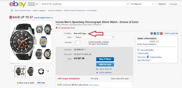 Does Ebay Sell Used Items How Can You Check If An Item Being Sold Is Used Or New Quora