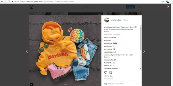 How to swipe to other pictures on Instagram on PC - Quora