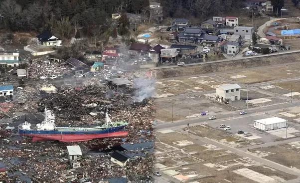 Tsunami Destruction How much damage...