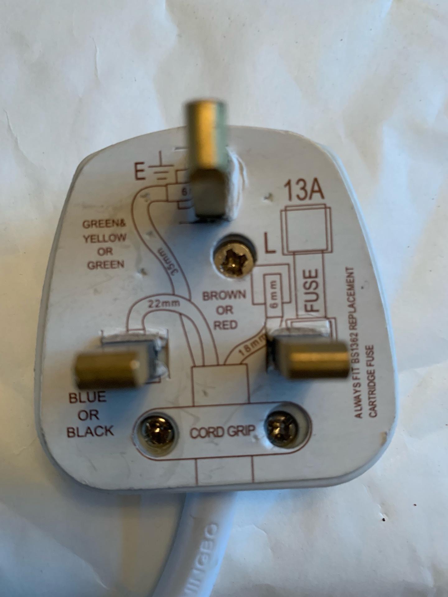 13a Plug Wiring