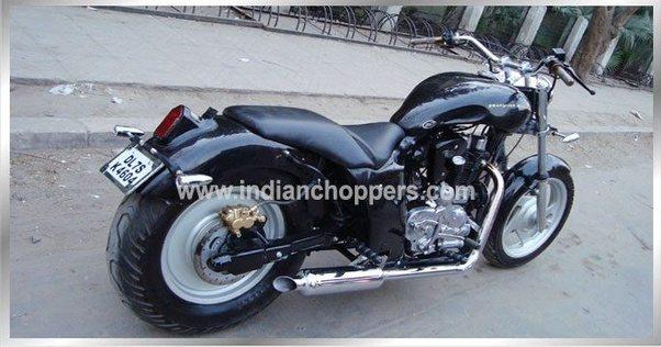How do i modify Avenger Bike to harley Davidson Fat boy ...  How do i modify...