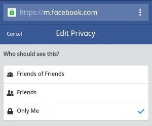 How to change your Facebook settings to hide your friend