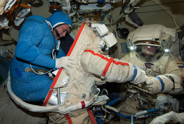 What Is Worn Under A Space Suit Quora