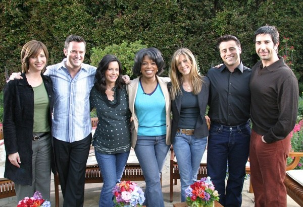 Friends cast hookup in real life