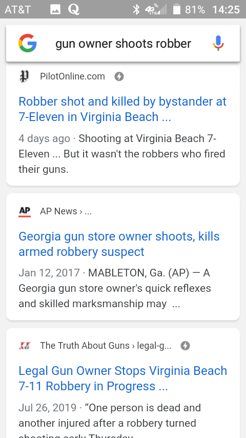 How come every time there is a shooting in a country where