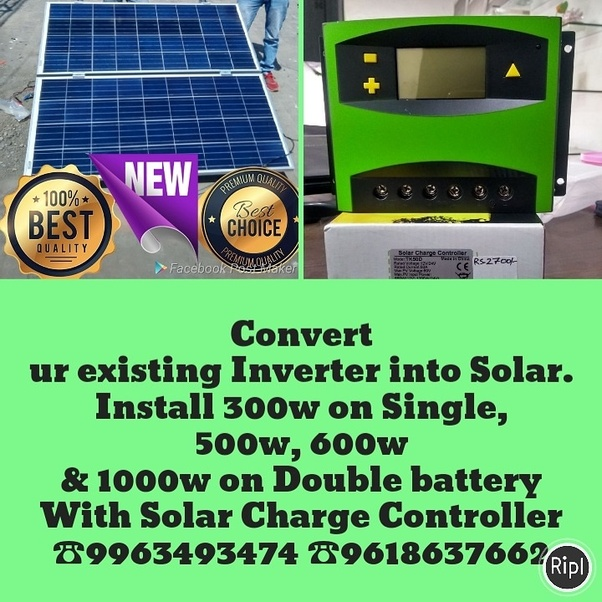 How to convert an ordinary inverter to a solar inverter - Quora
