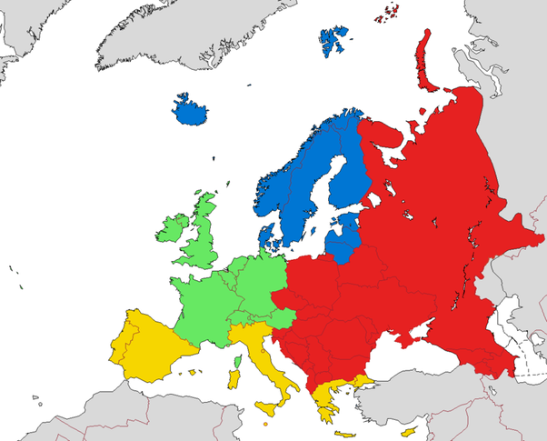What Countries Are Considered To Be Western Europe Quora - Western europe