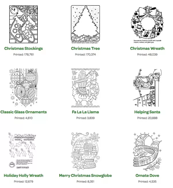 Where Can I Get Christmas Adult Coloring Pages