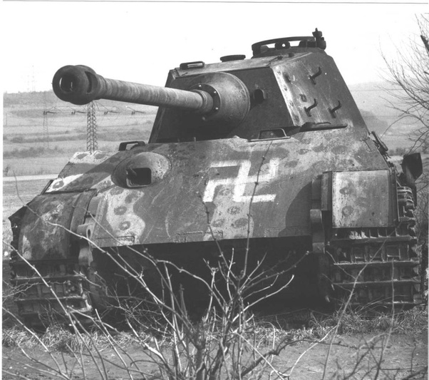 What were some Eastern Front paint schemes for King Tiger Tanks in