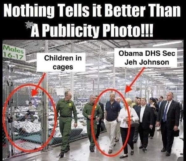 Was it Barack Obama's administration who built the cages for children in  the detention centers or was it Donald Trump's? - Quora