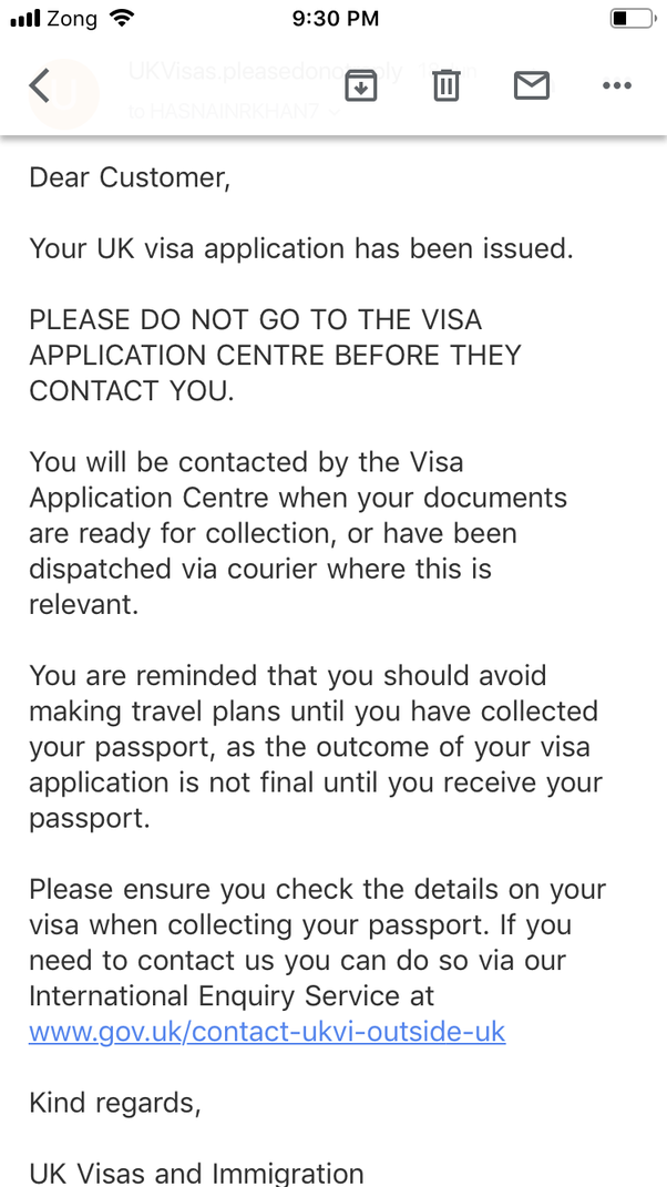 How to know that I have been approved for a UK visa - Quora