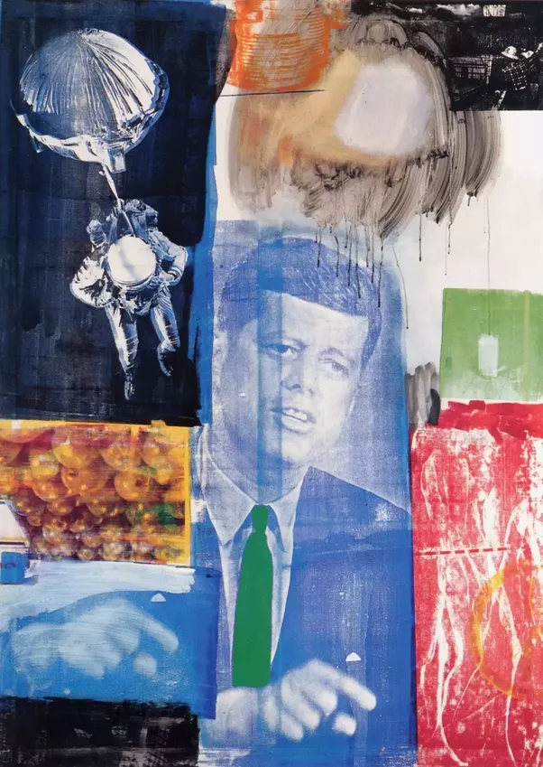 which artists are visibly influenced by robert rauschenberg u0026 39 s style in their artwork