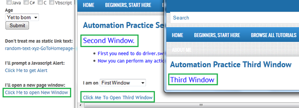 How to select a particular window in Selenium WebDriver - Quora