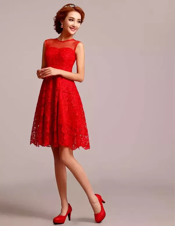 Can I pair my red dress with a red shoes and accesories ...