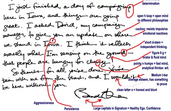 What our politicians' handwriting reveals about them