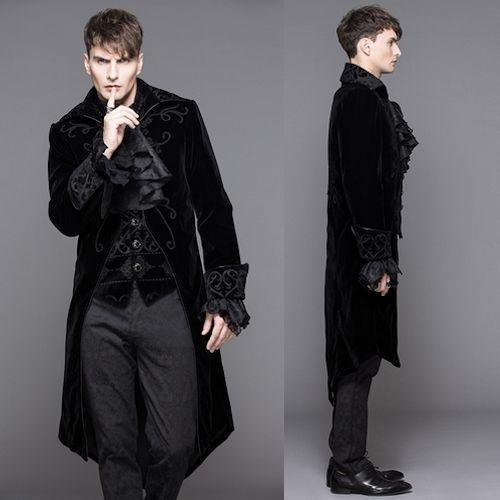 The Gothic Fashion Is A Style Of Clothing That Marked By Darkness Inexplicableness And Weirdness Men New With Line Include
