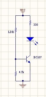 We\'re designing a light activated switch using op amp 741, LDR and a ...