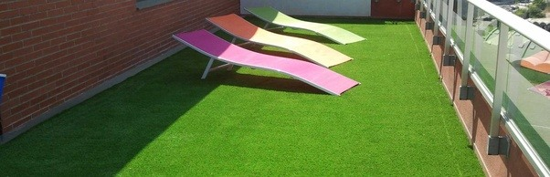 however synthetic grass can also be installed on concrete paving or decking although these applications require different installation methods - Synthetic Grass Cost