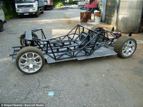 Why do cars not have an alloy frame like motorcycles? - Quora