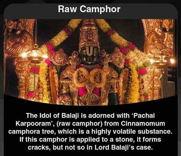 What Are Some Unknown Facts About The Tirupathi Balaji Temple Quora