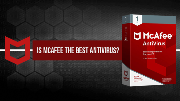 Is Mcafee the best antivirus - Quora
