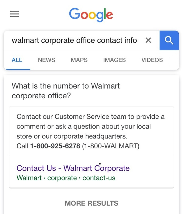 Walmart Corporate Contact >> How To Get In Touch With A Walmart Corporate Office Quora