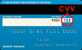How to find a CVV number on a debit card - Quora
