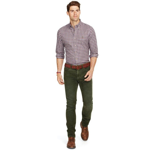 What Color Shirts Go With Olive Green Pants?