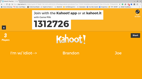 Image of: Usernames The Tazd Gamer Quora What Is The Rudestmost Inappropriate Kahoot Name Youve Ever Seen