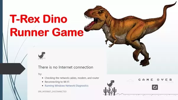 How to play the T-Rex dinosaur game without disconnecting ...