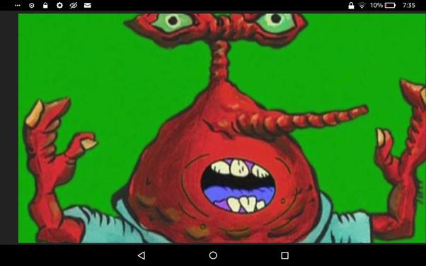 Weird Mr Krabs Faces 8