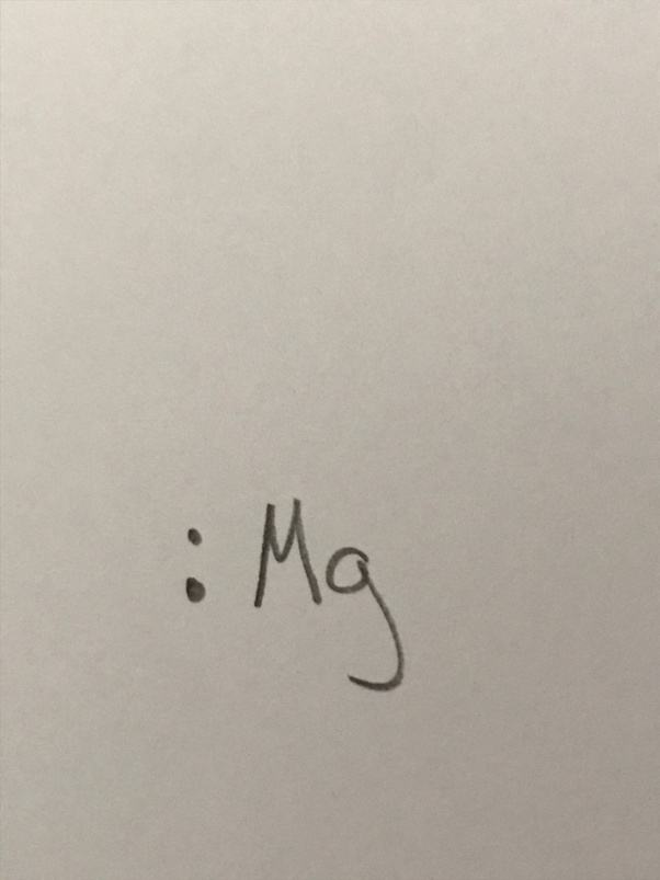 What Is The Lewis Dot Diagram For Magnesium Quora