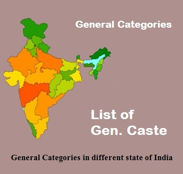 Which caste comes under general category? - Quora