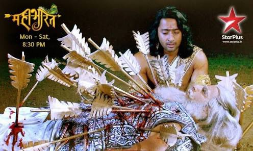 Why Weren T The Arrows Stuck In The Body Of Bhishma Cut To Remove Them From His Body Which Would Have Atleast Reduced His Pain And Allowed Him To Be Placed On A