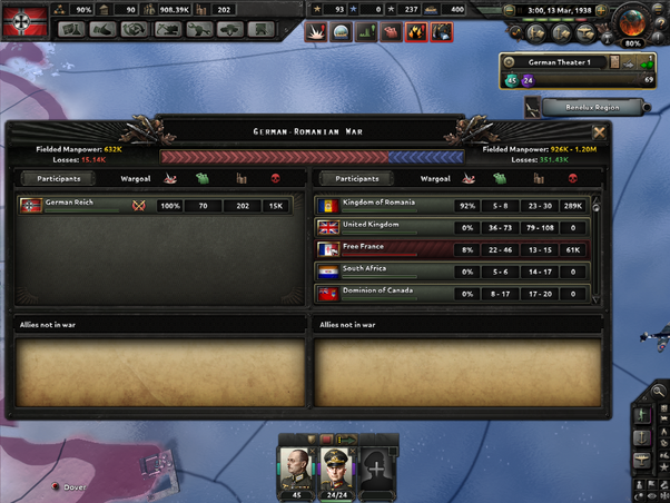 What is the best strategy for winning the war as Germany in