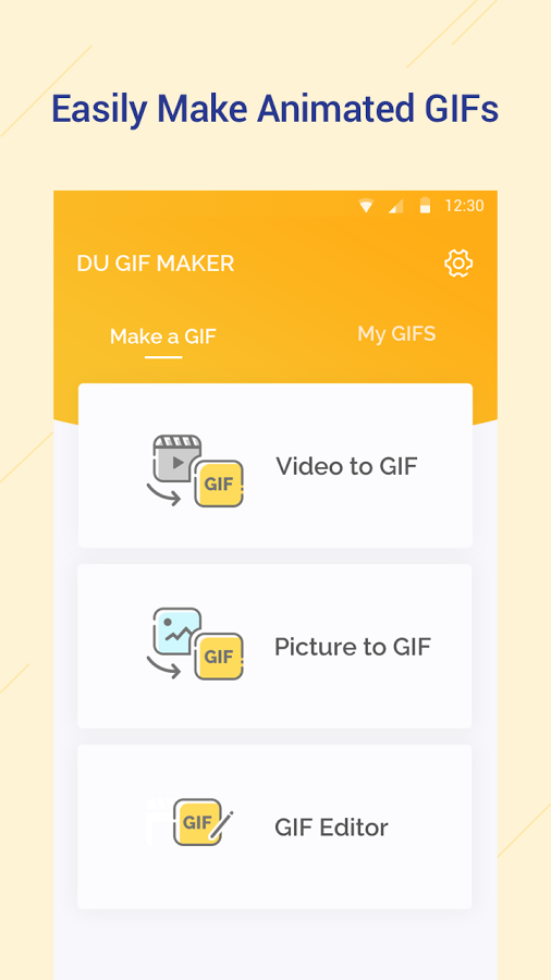 What is a great gif making app quora du gif maker is a free gif maker gif editor for android that helps you easily make smooth animated gifs with small file sizes negle Gallery