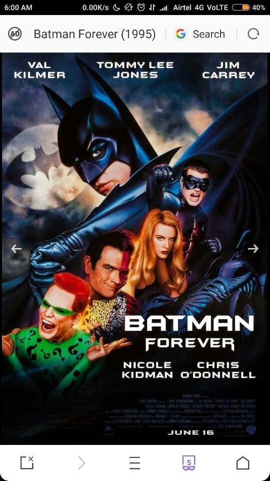 Whats The Order Of Batman Movies