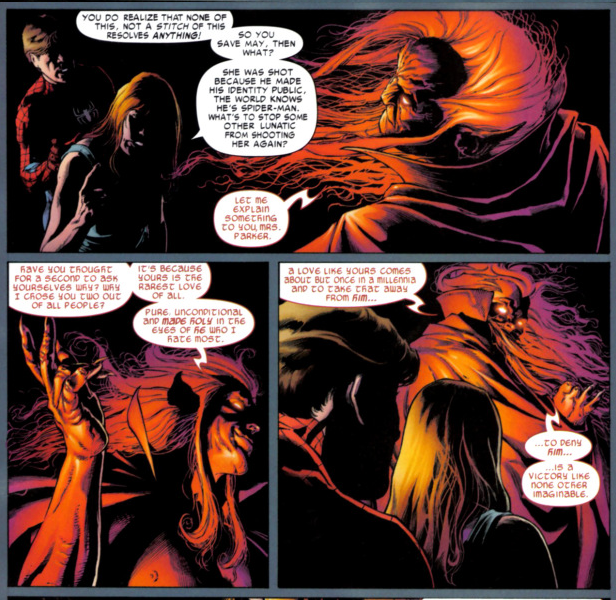 What is the darkest thing a villain has done in DC or Marvel