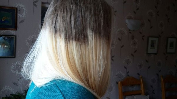 I want to dye my hair black with purple dip dye but my ...